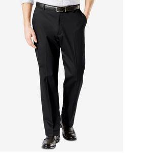 Dockers Signature Black Cotton Classic Fit Pants